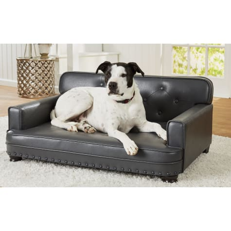 Enchanted Home Pet Library Pet Grey Sofa for Dog
