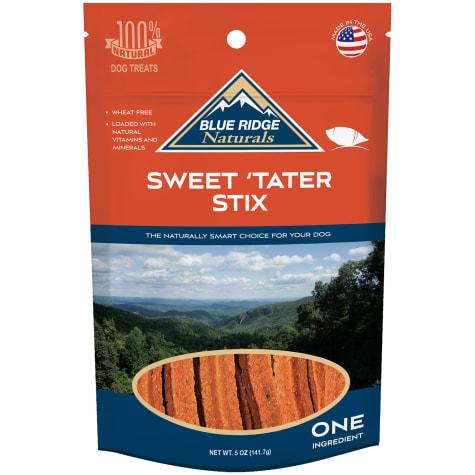 Blue Ridge Naturals Sweet Tater Stix Dog Treats