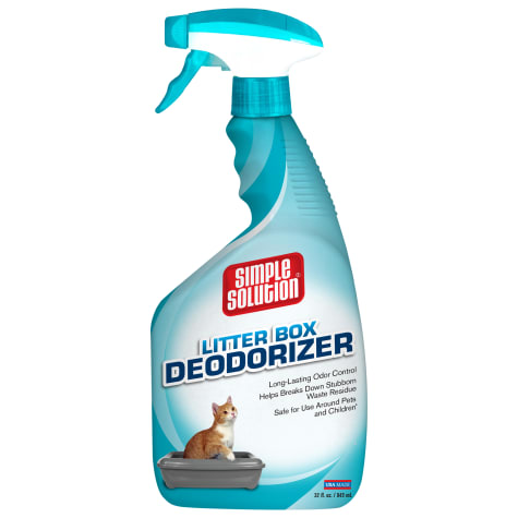 Simple Solution Cat Litter Box Deodorizer Spray Bottle