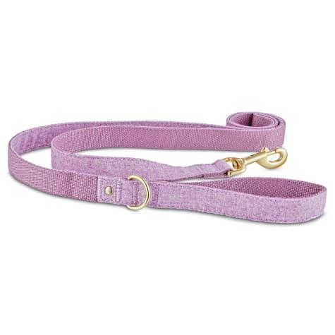Bond & Co. Lavender Tweed Dog Leash