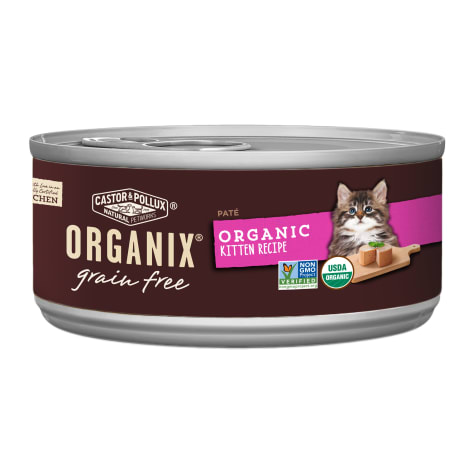 Castor & Pollux Organix Grain Free Healthy Wet Kitten Food