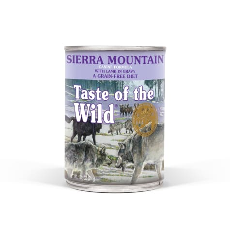 Taste of the Wild Sierra Mountain Grain-Free Roasted Lamb Stew Dog Food