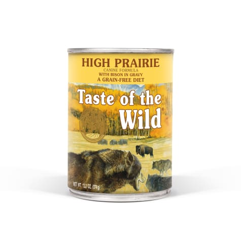 Taste of the Wild High Prairie Grain-Free Roasted Bison & Venison Stew Dog Food