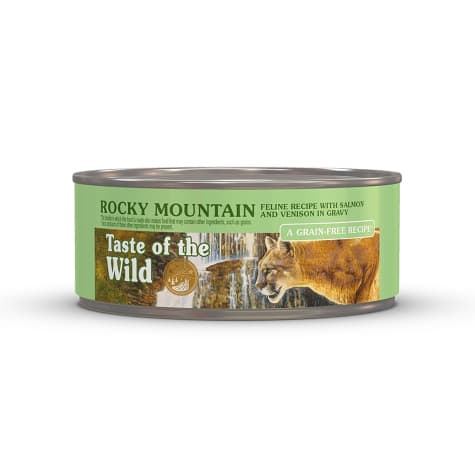 Taste of the Wild Rocky Mountain Grain-Free Roasted Venison & Smoked Salmon Stew Cat Food
