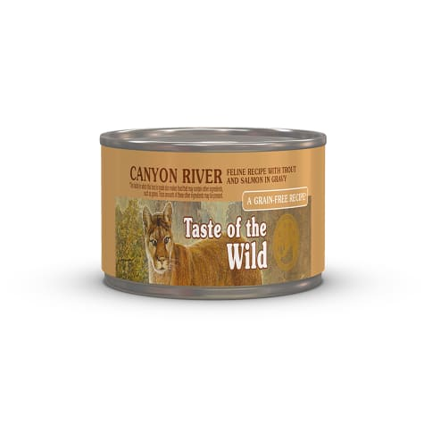 Taste of the Wild Canyon River Grain-Free Trout & Smoked Salmon Stew Cat Food