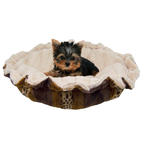 Bessie & Barnie Ultra Plush Deluxe Wild Kingdom Natural Beauty Pet Cuddle Pod Cat Bed