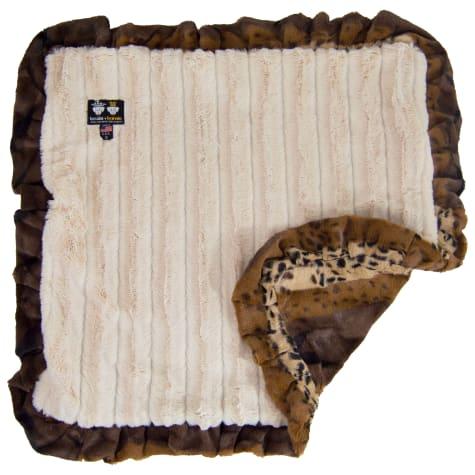 Bessie & Barnie Luxury Ultra Plush Wild Kingdom Pet Blanket for Dogs