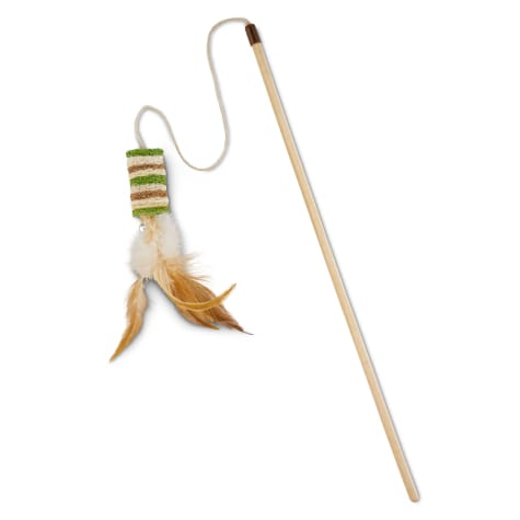Leaps & Bounds Playful by Nature Stacked Luffa Cat Teaser Toys