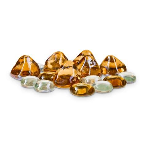 Imagitarium Rose Gold Gems Gravel Accents