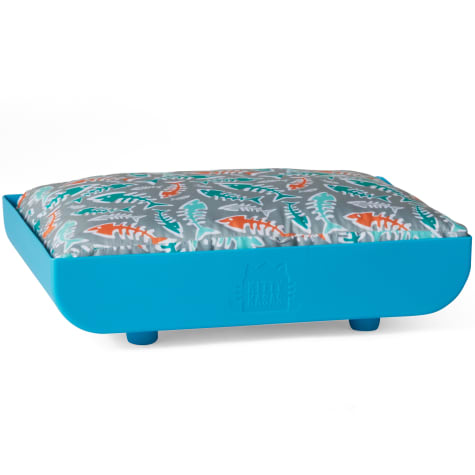 Kitty Kasas Penthaus Blue Bed for Cat