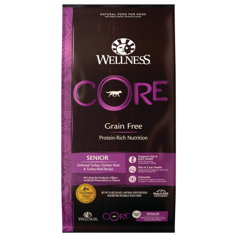 Wellness CORE Senior Natural Grain Free Dry Dog Food