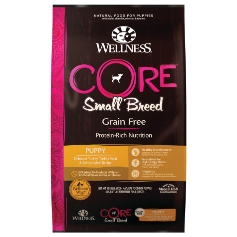 Wellness CORE Small Breed Natural Grain Free Dry Puppy Food