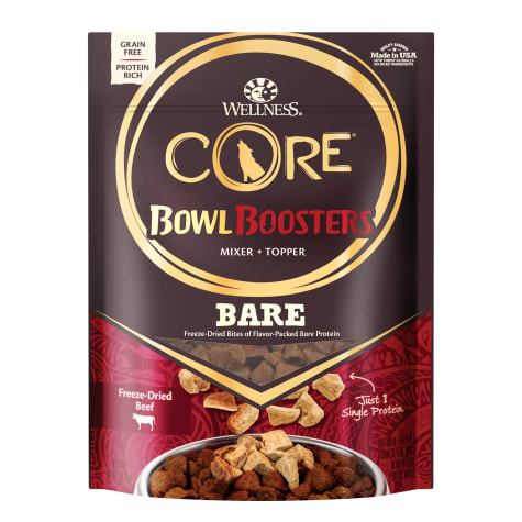 Wellness CORE Natural Bowl Boosters Bare Freeze Dried Beef Dry Dog Food