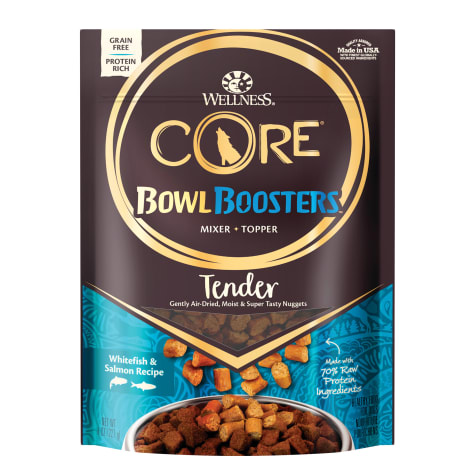 Wellness CORE Natural Bowl Boosters Tender Whitefish & Salmon Recipe Dry Dog Food