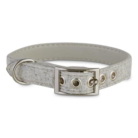 Bond & Co. Stone-Gray Dog Collar