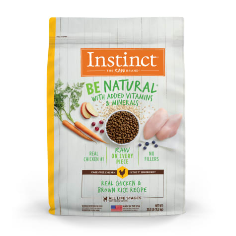Instinct Be Natural Real Lamb & Oatmeal Recipe Dry Dog Food by Nature's Variety