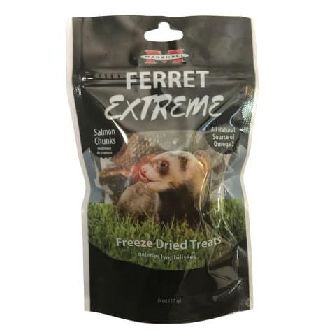 Marshall Ferret Extreme Freeze Dried Salmon Chunks Flavored Treats