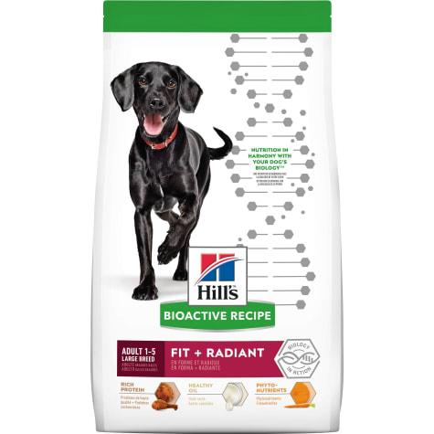 Hill's Bioactive Recipe Fit + Radiant Chicken & Barley Adult Large Breed Dry Dog Food