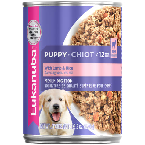 Eukanuba Puppy With Lamb And Rice Wet Food