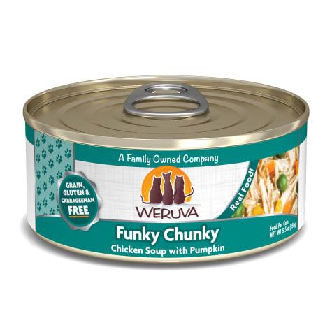 Weruva Classics Funky Chunky Chicken Soup with Pumpkin Wet Cat Food