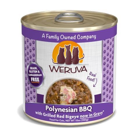 Weruva Classics Polynesian BBQ with Grilled Red Bigeye in Gravy Wet Cat Food
