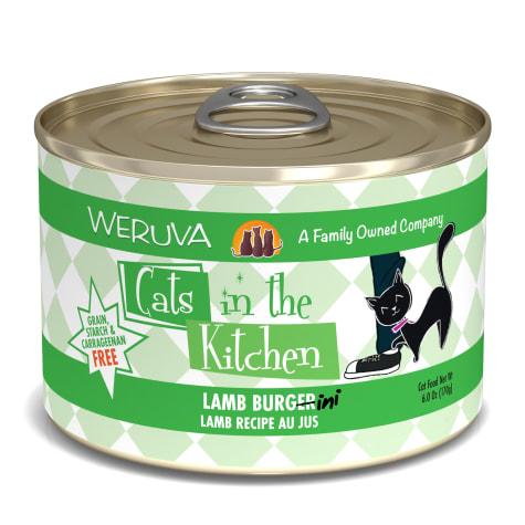 Cats in the Kitchen Lamb Burgini Lamb Recipe Au Jus Wet Cat Food