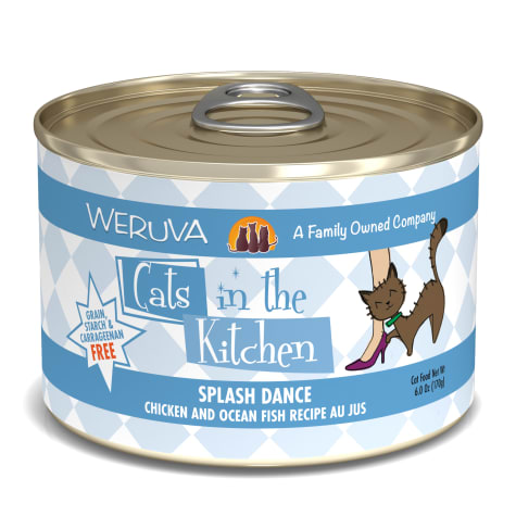 Cats in the Kitchen Splash Dance Chicken and Ocean Fish Recipe Au Jus Wet Cat Food