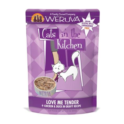 Cats in the Kitchen Love Me Tender Chicken & Duck in Gravy Recipe Wet Cat Food