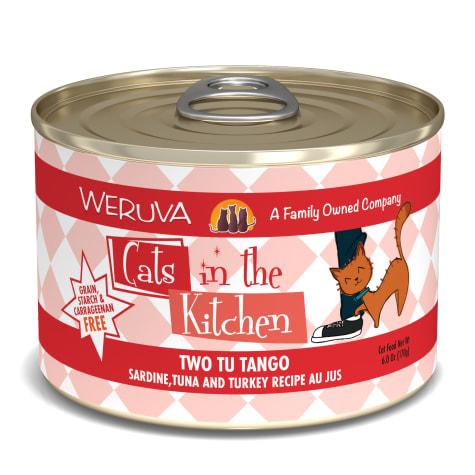 Cats in the Kitchen Two Tu Tango Sardine, Tuna and Turkey Recipe Au Jus Wet Cat Food