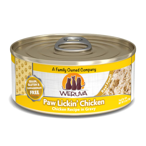 Weruva Classics Paw Lickin' Chicken Chicken Recipe in Gravy Wet Cat Food