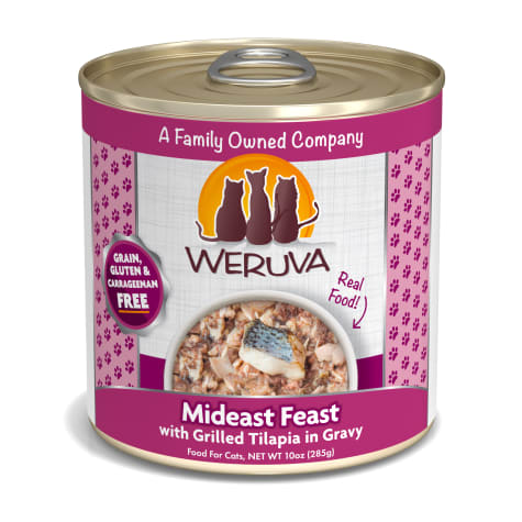 Weruva Classics Mideast Feast with Grilled Tilapia in Gravy Wet Cat Food