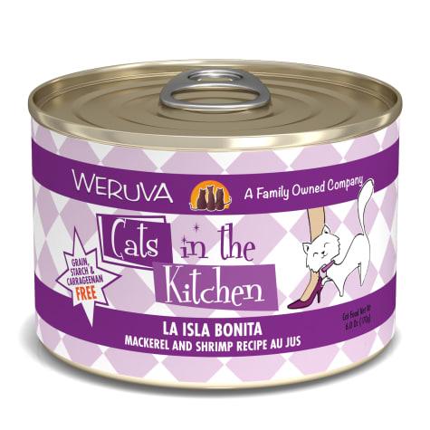 Cats in the Kitchen La Isla Bonita Mackerel and Shrimp Recipe Au Jus Wet Cat Food