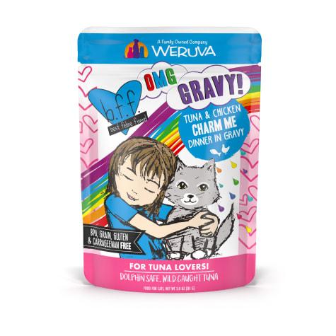 B.F.F. OMG Charm Me Tuna & Chicken Dinner in Gravy Wet Cat Food