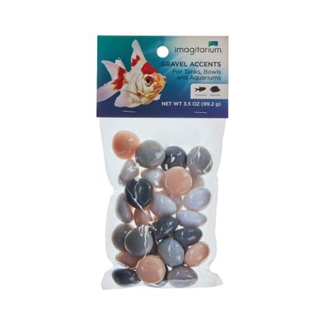 Imagitarium Rose and Grey Stone Aquarium Gravel Accent Mix