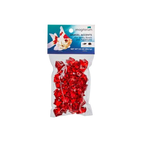 Imagitarium Red Jewel Aquarium Gravel Accent Mix