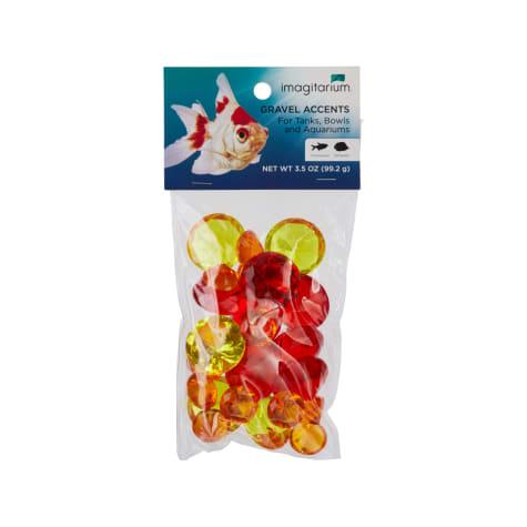 Imagitarium Red Gem Treasure Aquarium Gravel Accent Mix