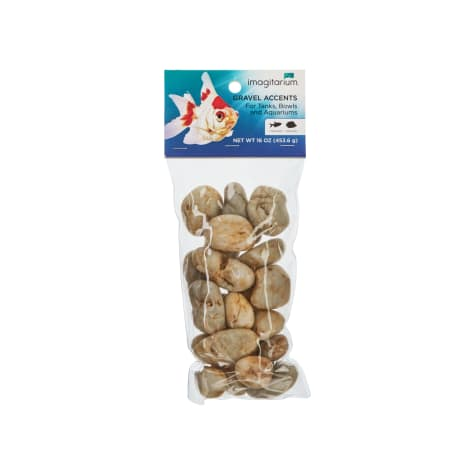 Imagitarium Light River Rock Aquarium Gravel Accent Mix