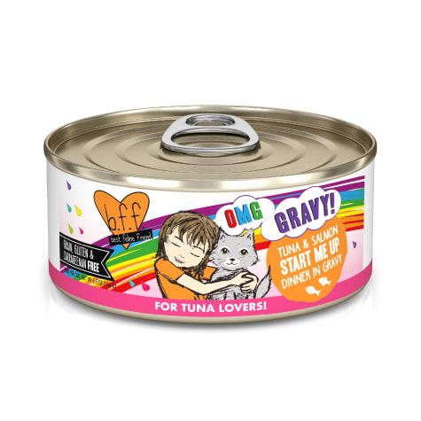 B.F.F. OMG Start Me Up Tuna & Salmon Dinner in Gravy Wet Cat Food