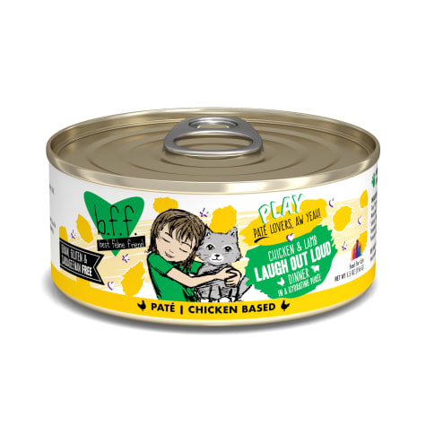 B.F.F. P.L.A.Y. Laugh Out Loud Chicken & Lamb Dinner in a Hydrating Puree Wet Cat Food