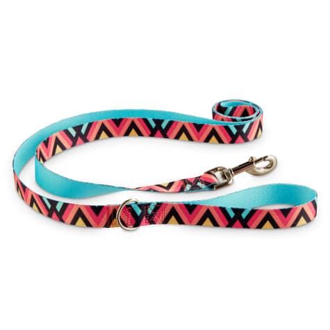 Good2Go Chevron Dog Leash in Pink