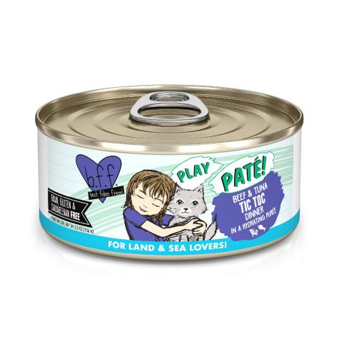 B.F.F. P.L.A.Y. Tic Toc Beef & Tuna Dinner in a Hydrating Puree Wet Cat Food