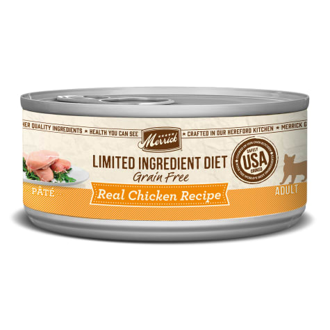 Merrick Grain Free Limited Ingredient Diet Chicken Wet Cat Food