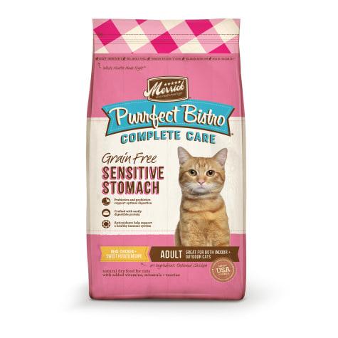Merrick Purrfect Bistro Complete Care Sensitive Stomach Recipe Dry Cat Food