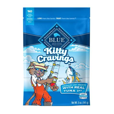 Blue Buffalo Kitty Cravings Tuna Crunchy Treats