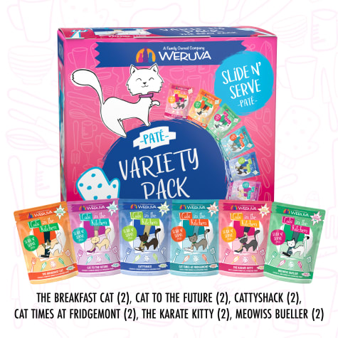 Cats in the Kitchen Pate The Brat Pack Variety Pack Wet Cat Food