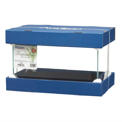 Aqueon 11 Gallon Frameless Aquarium