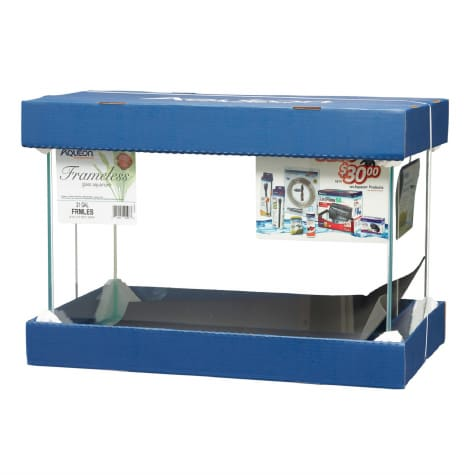 Aqueon 21 Gallon Frameless Aquarium