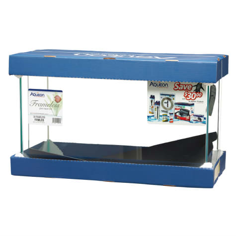 Aqueon 30 Gallon Frameless Aquarium
