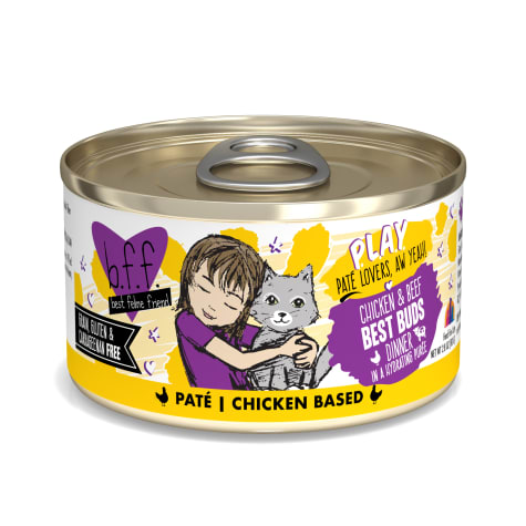 B.F.F. P.L.A.Y. Best Buds Chicken & Beef Dinner in a Hydrating Puree Wet Cat Food