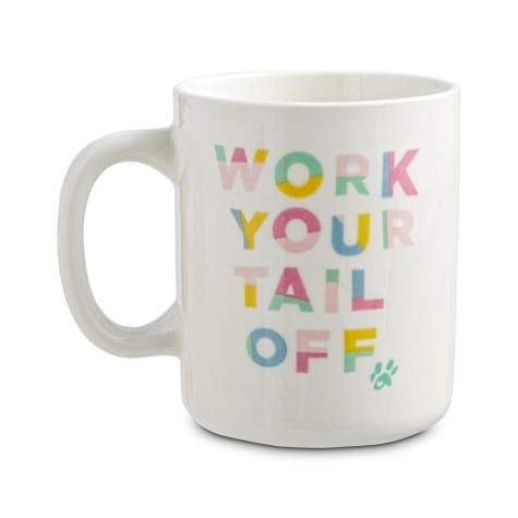 Oh Joy! Work your Tail Off Mug